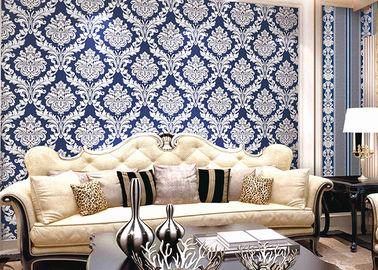 Σύγχρονη Damask PVC ύφους ταπετσαρία χαμηλής τιμής για τη διακόσμηση γραφείων/σπιτιών, CE CSAC