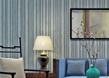 Σύγχρονη ύφους απόδειξη θερμότητας ταπετσαριών μίκας πέτρινη με το υλικό φύσης, σχέδιο λωρίδων