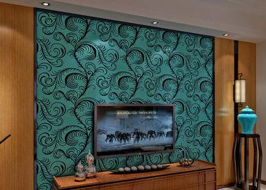 Η Soundproof ταπετσαρία κοπαδιών βελούδου πολυτέλειας/η τρισδιάστατη κάλυψη τοίχων με 0.7*10M ταξινομεί, Eco φιλικό