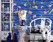 Floral Bird New Designs Modern Removable Wallpaper for Saloon Chinese Factory Manufacture